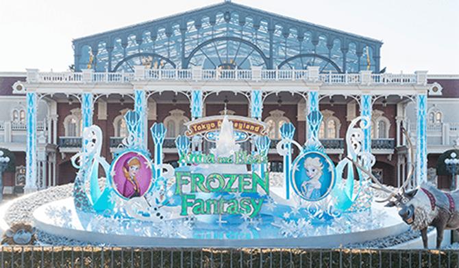 雪と氷の世界を体験しよう|東京ディズニーランド スペシャルイベント アナとエルサのフローズンファンタジー|東京ディズニーリゾート